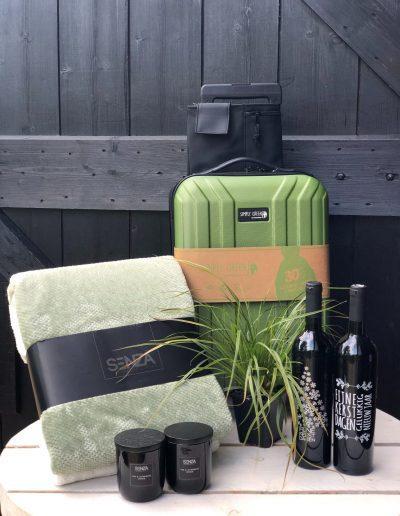 Cadeau artikelen en koffer