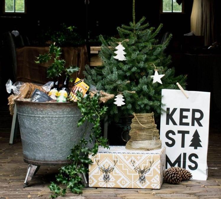 Kerstpakketten in Putten
