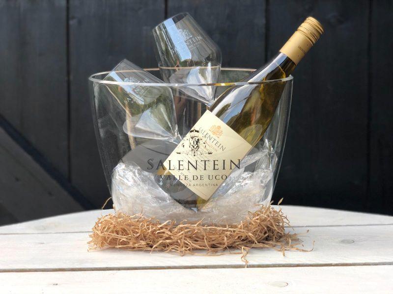 Salentein wijnkoeler kerstpakket