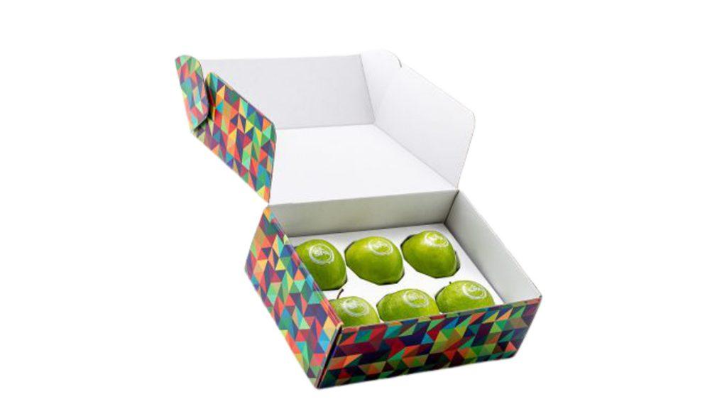 Bedrukt fruit doos
