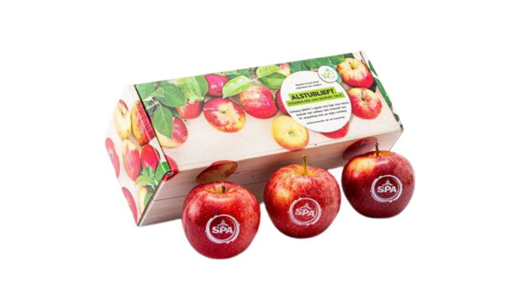 Bedrukt fruit verpakking