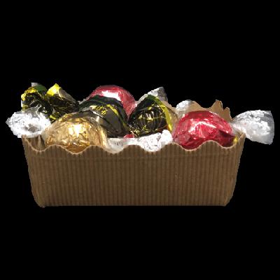 Duurzaam kerstpakket Chocolade ballen