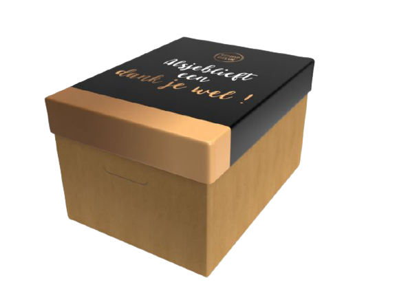 Duurzaam pakket doos